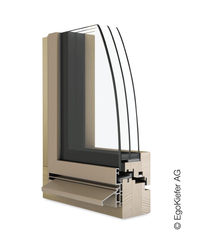 Holz/Aluminium Fenster EgoKiefer AG EgoSelectionPlus