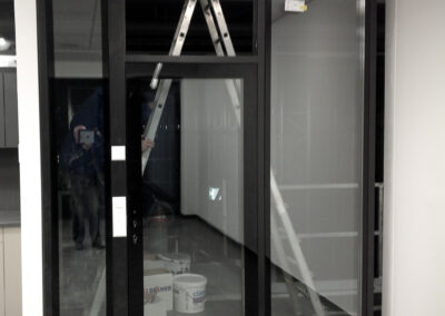 Eingangsbereich Türe