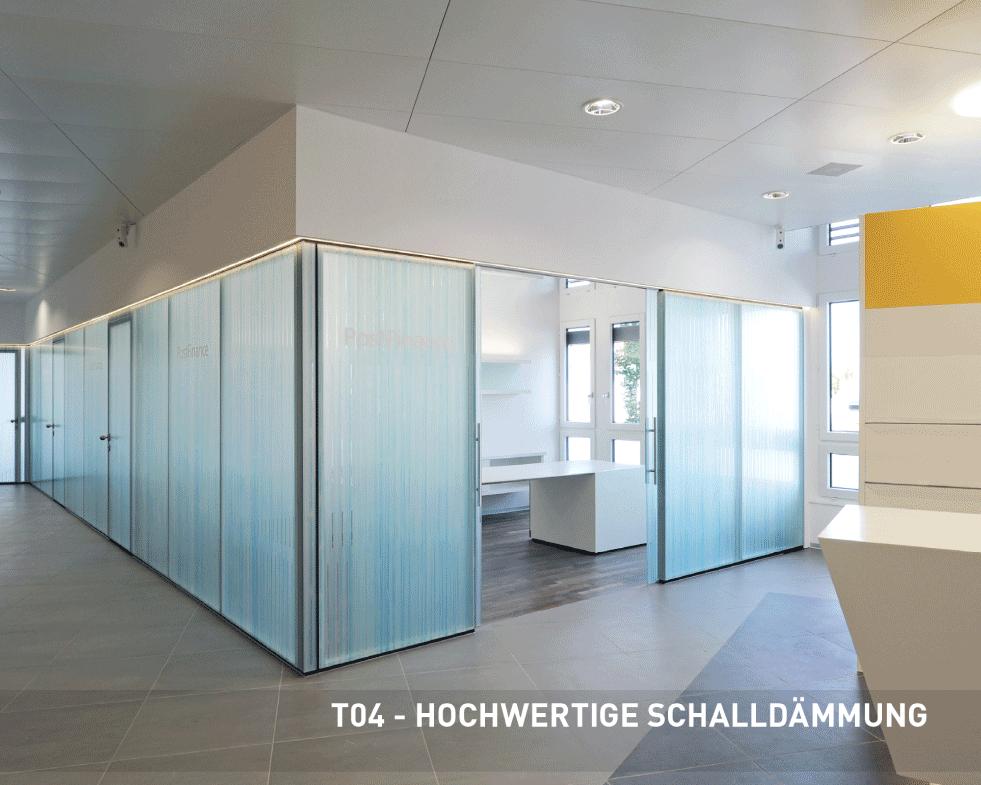 TREWAG T04 HOCHWERTIGE SCHALLDÄMMUNG